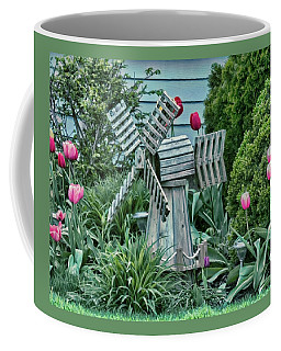 Garden Windmill Coffee Mug