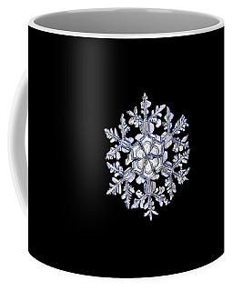 Gardener's Dream, White On Black Version Coffee Mug