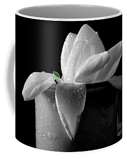 Gardenia In Coffee Cup Coffee Mug