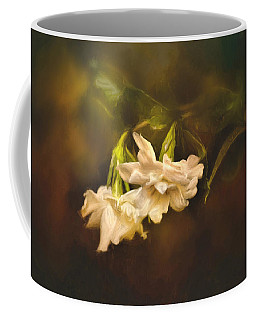 Gardenia In The Garden Coffee Mug