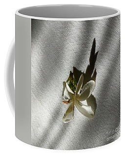 Gardenia On Tablecloths  Coffee Mug