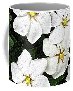Gardenias In The Rain Coffee Mug