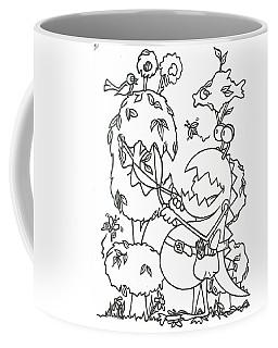 Gardening Monster Coffee Mug