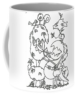 Gardening Monster Coffee Mug