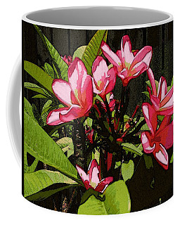 Coffee Mug featuring the digital art Gardren Joy by Winsome Gunning