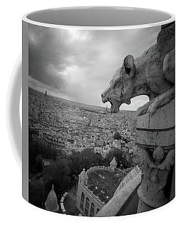 Gargoyle Hungry For The Eiffel Tower Coffee Mug