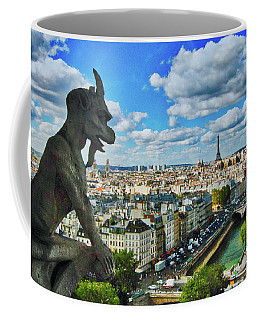 Gargoyle With A View Coffee Mug