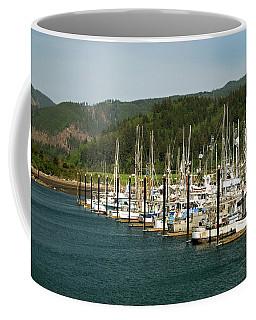 Garibaldi Oregon Marina Coffee Mug