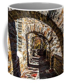 Coffee Mug featuring the photograph Garrett Chapel Balcony by William Norton