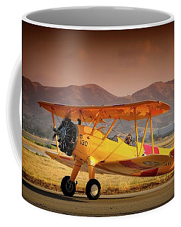 Gary Peters Boeing Stearman Kaydet 2016 Planes Of Fame Version 2 Coffee Mug