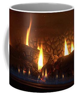 Gas Stove Flame Coffee Mug