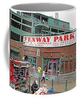 Coffee Mug featuring the photograph Gate B Fenway by Barbara McDevitt