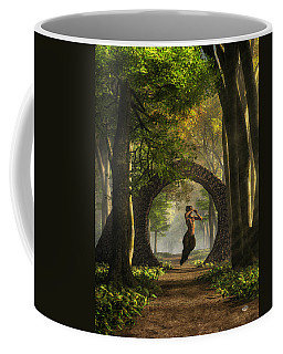 Gate To Pan's Garden Coffee Mug