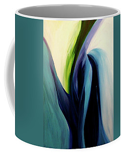 Coffee Mug featuring the painting Gate To The Garden  By Paul Pucciarelli by Iconic Images Art Gallery David Pucciarelli