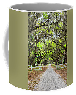 Gated Wormsloe Plantation Coffee Mug