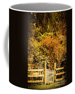 Gates In Fall Coffee Mug