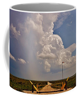 Coffee Mug featuring the photograph Gates Of Hail by Ed Sweeney