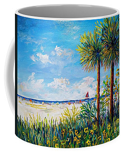 Gateway To Siesta Key Beach  Coffee Mug