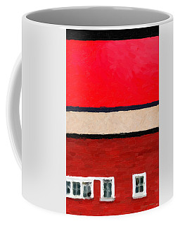 Coffee Mug featuring the digital art Gateways And Portals No. 2 by Serge Averbukh