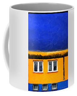 Coffee Mug featuring the digital art Gateways And Portals No. 3 by Serge Averbukh
