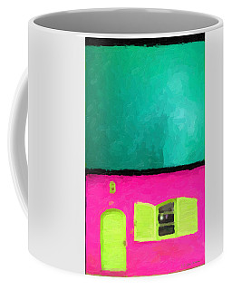 Coffee Mug featuring the digital art Gateways And Portals No. 4 by Serge Averbukh