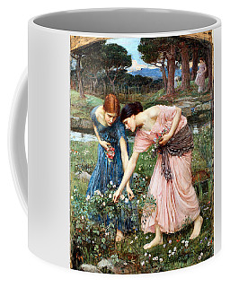 Gather Ye Rosebuds While Ye May Coffee Mug