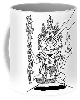 Gautama Buddha Black And White Coffee Mug