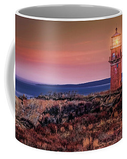 Gay Head Light At Sunrise Coffee Mug