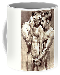 Gay Love Watercolor Coffee Mug