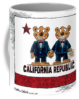 Gay Marriage In California Coffee Mug