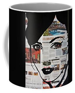 Gaze Coffee Mug by Kruti Shah