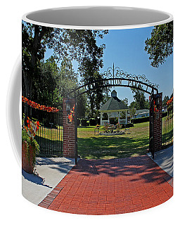 Coffee Mug featuring the photograph Gazebo At Celebration Park by Judy Vincent