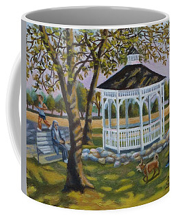 Gazebo In Fireman's Park  Coffee Mug