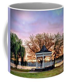 Gazebo Sunrise At Claytor Lake Coffee Mug