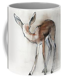 Gazelle Fawn  Arabian Gazelle Coffee Mug by Mark Adlington