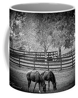 Grazing Horses Coffee Mug