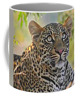 Gazing Leopard Coffee Mug
