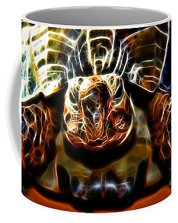 Gazing Turtle Coffee Mug by Mariola Bitner