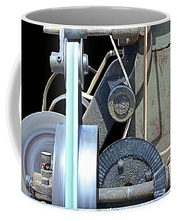 Coffee Mug featuring the photograph Gears by Kristin Elmquist