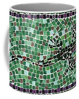 Coffee Mug featuring the ceramic art Gecko by Jamie Frier