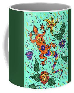Gecko Jungle Coffee Mug