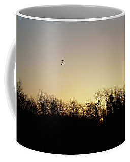 Coffee Mug featuring the photograph Geese At Sunrise by Kent Lorentzen