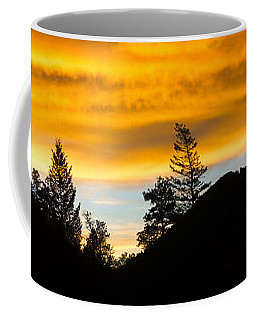 Coffee Mug featuring the photograph Geese At Sunrise by Shane Bechler