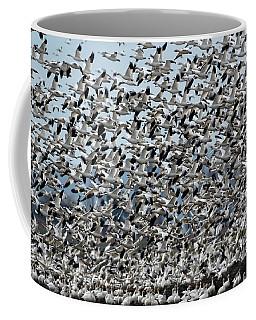 Geese Fly Away Coffee Mug