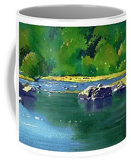 Geese On The Rappahannock Coffee Mug