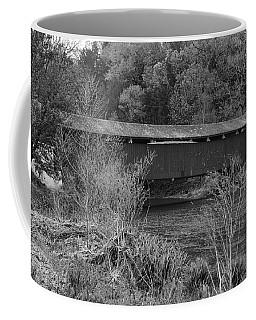 Geiger Covered Bridge B/w Coffee Mug