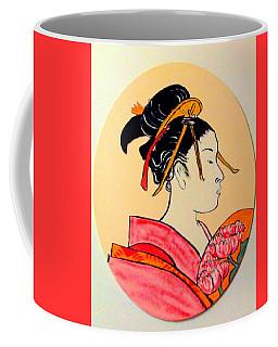 Geisha In The House Of Pleasure Coffee Mug