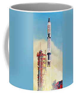 Gemini-titan Launch Coffee Mug