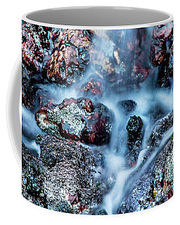 Coffee Mug featuring the photograph Gemstone Falls by Az Jackson