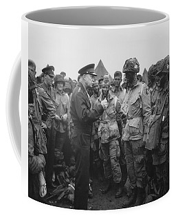 General Eisenhower On D-day  Coffee Mug